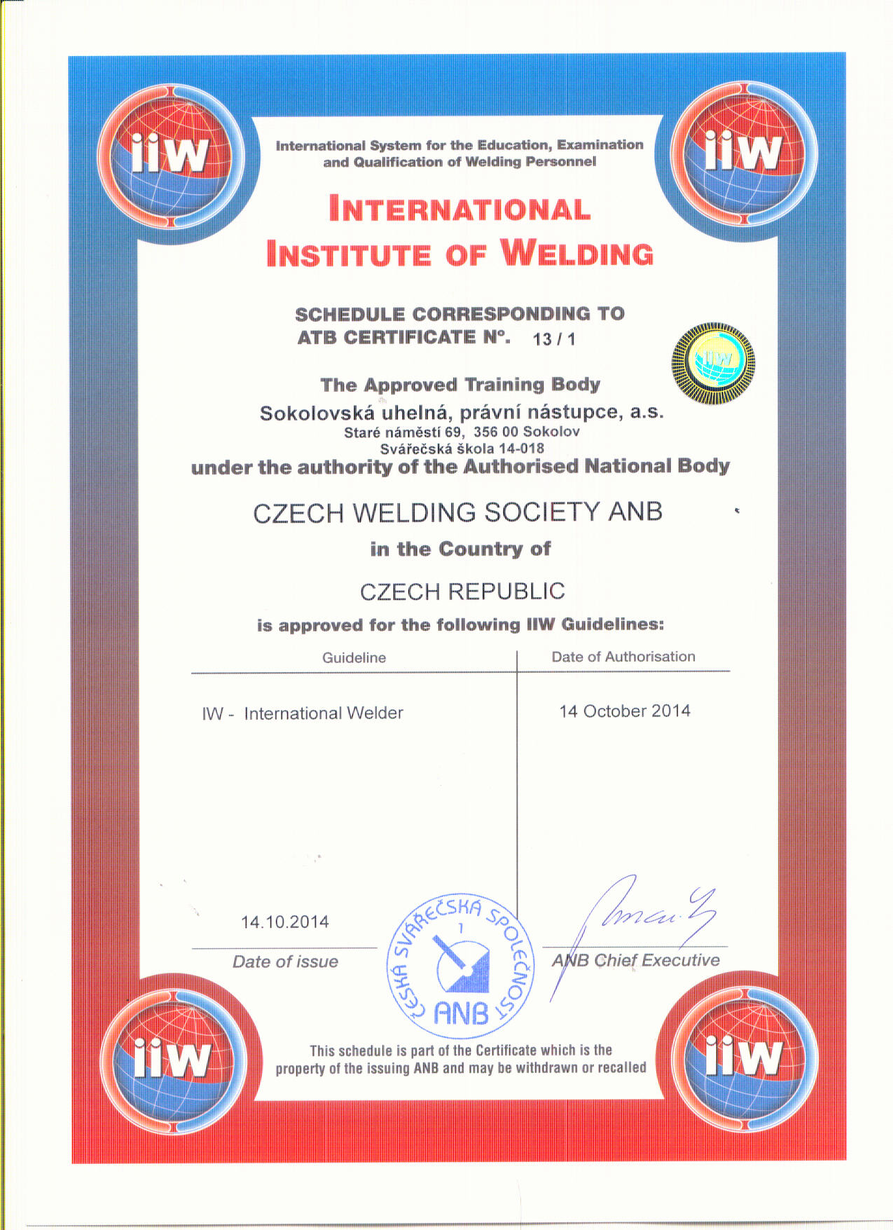 certifikat iiw international welder